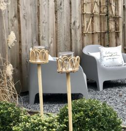 Tuinsteker van Bamboe