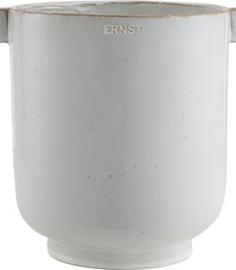 ERNST - Bloempot - met handgrepen - Natuur - L