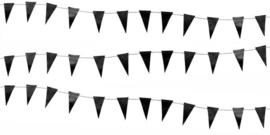 Delight Department - Mini vlaggen slinger - zwart