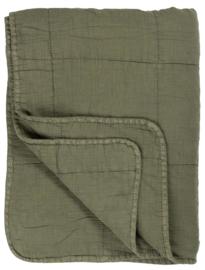 Ib Laursen - Quilt - kleur Olijf