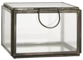 Ib Laursen - glazen kistje - metaal