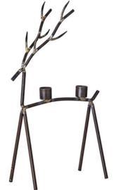Affari of Sweden - Oh deer kandelaar - metaal