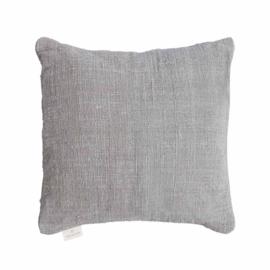 Original home - kussen handwoven - Licht grijs