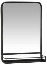 Ib Laursen - Spiegel met plank - Metaal