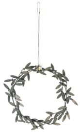 Ib Laursen - Krans om op te hangen - Mistletoe blaadjes