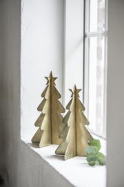 Ib Laursen - Christmas tree standing - brons - Maat S
