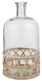 Ib Laursen - Fles vaas met bamboe