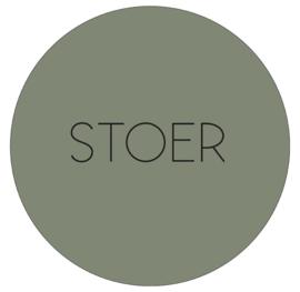 Labelr - Muurcirkel - Stoer - Olijfgroen