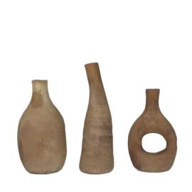 Terra vases - set van 3