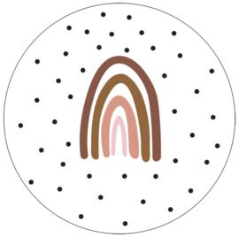 Labelr - Muurcirkel - Rainbow