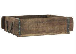 Ib Laursen - Houten baksteen mal met handvaten