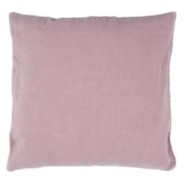 Ib Laursen - linnen kussenhoes - oud roze