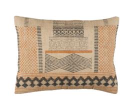 Ib Laursen - jute kussen - Inca patroon