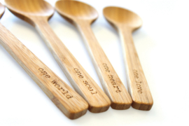 Urban Nature Culture - Message spoon - bamboo