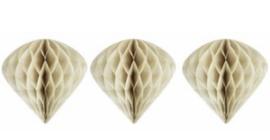 Delight Department - ornament cone - set van 3