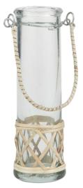 Ib Laursen - Hangvaasje - handgeblazen glas