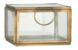 Ib Laursen - Glazen kistje - Brons