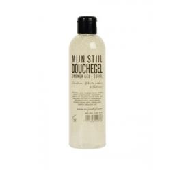 Mijn Stijl - Douchegel - Geur White Cedar en Vetiver - transparante fles