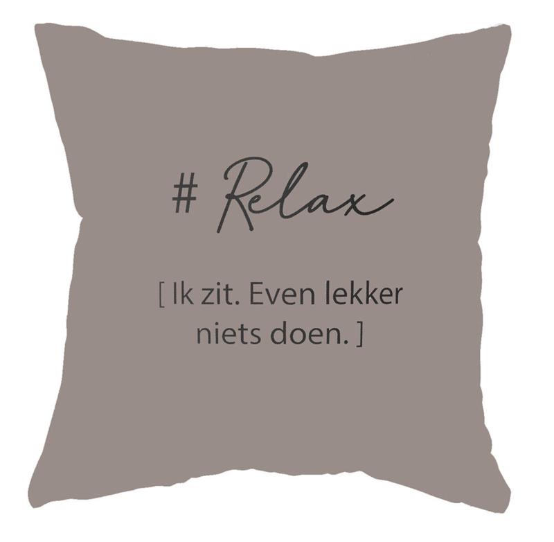 LabelR- Outdoor kussen - Relax - Zand