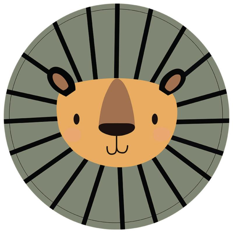 Labelr - Muurcirkel - Lion