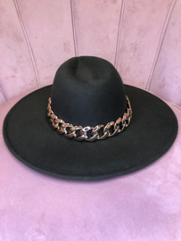 HAT GREEN GOLD CHAIN