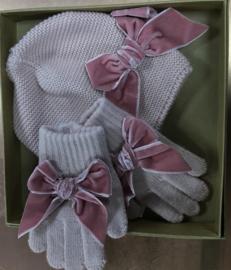 Set muts handschoenen