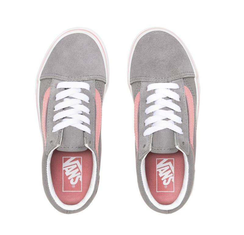 pop old skool vans grey
