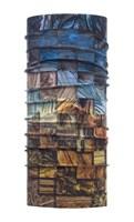 High Uv BUFF® Wood Collage Multi