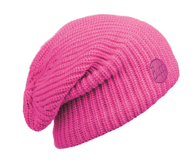 Knitted And Polar Hat BUFF® Drip Pink Fluor