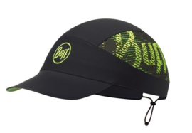 BUFF® Pack Run Cap R-Flash Logo Black