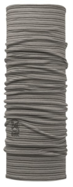 Merino Wool BUFF® Light Grey Stripes
