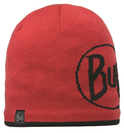 Knitted And Polar Hat BUFF® Logo Red