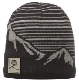 Knitted And Polar Hat BUFF® Laki Black