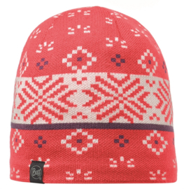 Knitted And Polar Hat BUFF® Jorden Coral