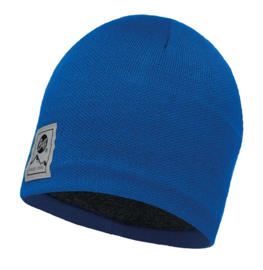 Knitted & Polar Hat BUFF® Solid Blue Skydiver