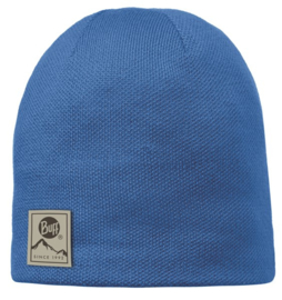 Knitted And Polar Hat BUFF® Solid Blue