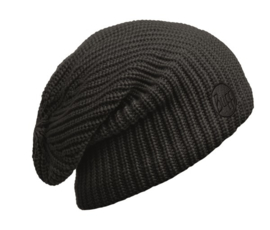 Knitted And Polar Hat BUFF® Drip Black
