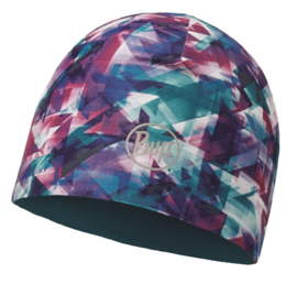 Microfiber Reversible Hat BUFF® R-Flected Turquoise - Blue