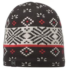 Knitted And Polar Hat BUFF® Jorden Black