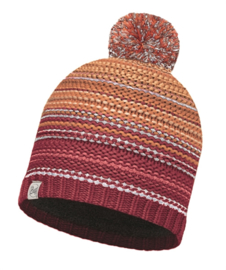 Knitted & Polar Hat BUFF® Neper Red Samba