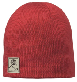 Knitted And Polar Hat BUFF® Solid Red