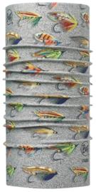 High Uv BUFF® Salmon Flies Sand