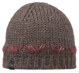 KNITTED HAT BUFF® LILE BROWN