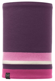 Knitted And Polar Fleece Neckwarmer BUFF® Ovel Plum