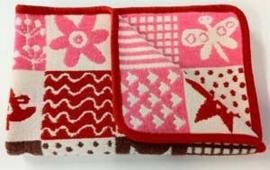 Wiegdeken Cotton patchwork