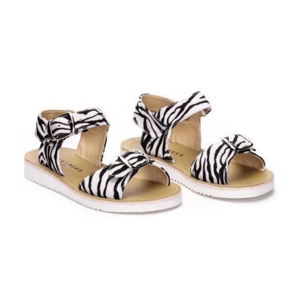 Zebra sandal