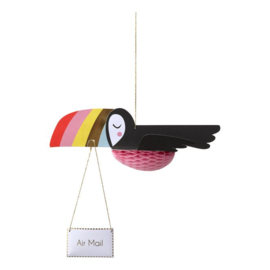 "Meri Meri • kaart ""flying toucan"""