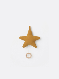 Ferm Living • music mobile star (mustard)