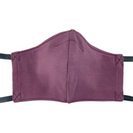 Uit eigen atelier • mondkapje lavendel