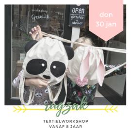 Kids workshop • Rugzak